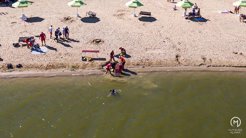 Mazury. 40-latek poszedł popływać i już nie wrócił. Tragedia w Mikołajkach