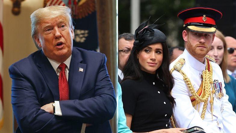"""Meghan Markle i Harry przeprowadzili się do Los Angeles. Donald Trump nie chce zapewnić im ochrony: """"NIECH SOBIE PŁACĄ SAMI!"""""""