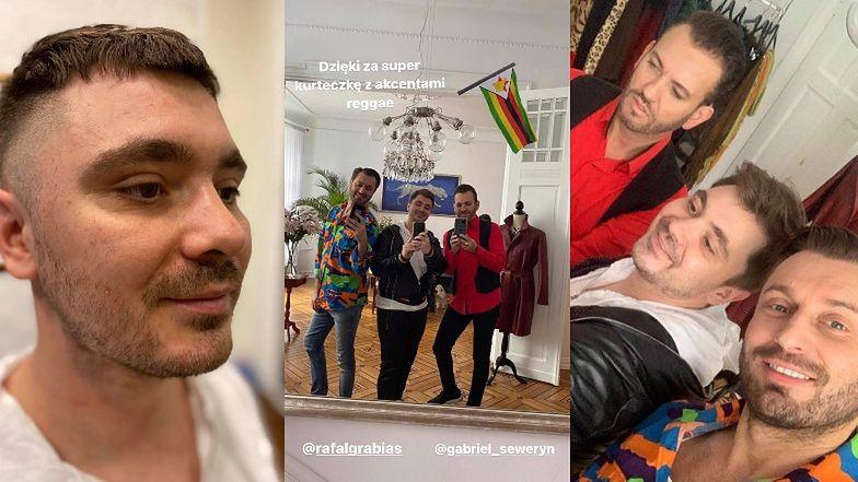 """""""Trendsetter"""" Daniel Martyniuk odwiedził atelier byłych """"Królowych życia"""": """"Dzięki za super kurteczkę z AKCENTAMI REGGAE"""" (ZDJĘCIA)"""