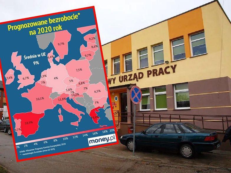 Polska dotychczas była w pierwszej trójce krajów UE o najniższym bezrobociu - teraz to się zmieni.