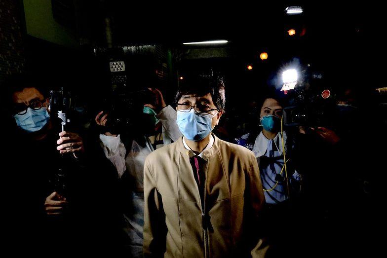 """""""W Wuhan coś ukrywali"""". Profesor przeprowadził badania. Stanowcza reakcja Chin"""