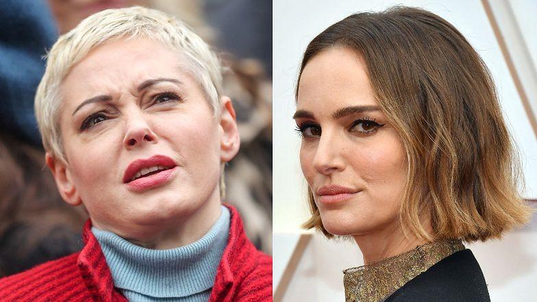 """Rose McGowan krytykuje oscarowy popis """"aktywizmu"""" Natalie Portman: """"Jestem ZNIESMACZONA"""""""
