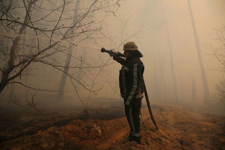 Pożar w Czarnobylu. Państwowa Agencja Atomistyki zabrała głos
