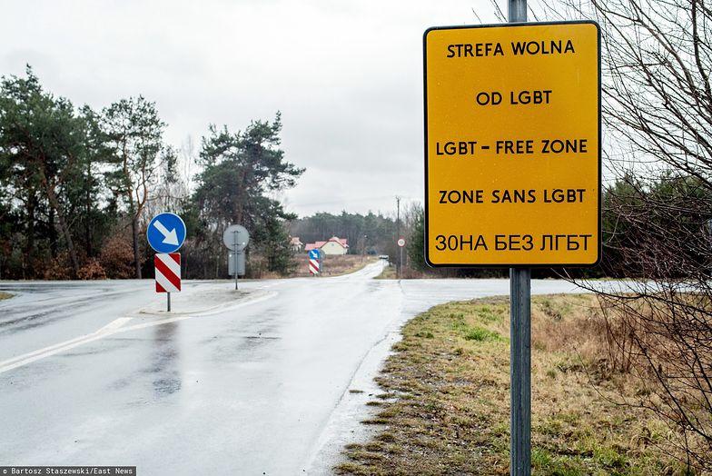 """""""Strefy wolne od LGBT"""" bez pieniędzy z Unii Europejskiej"""