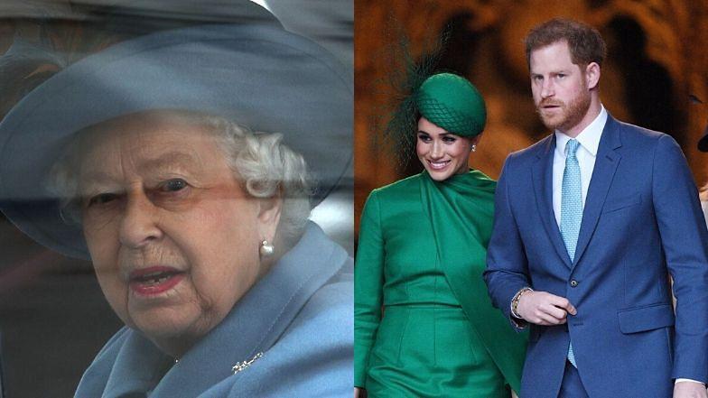 """Meghan Markle zdradziła, że Harry czuje się """"bezradny"""" w obliczu koronawirusa: """"Martwi się o królową i księcia Karola"""""""
