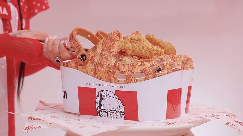 KFC wypuściło Crocsy pachnące kurczakiem. Zniknęły w mniej niż pół godziny