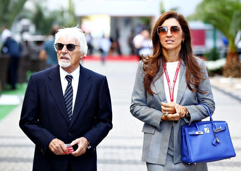 Ma 89 lat i został ojcem. Bernie Ecclestone i jego żona Fabiana powitali syna