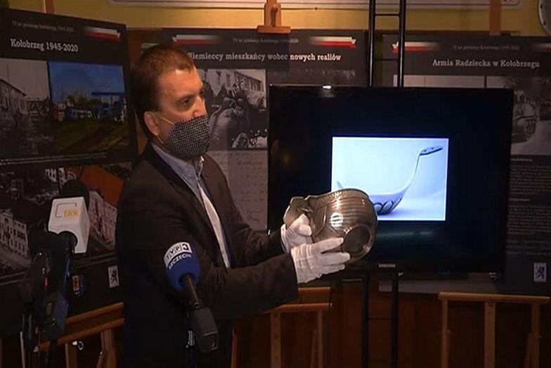 Czara została zaprezentowana na konferencji w Muzeum Oręża Polskiego w Kołobrzegu