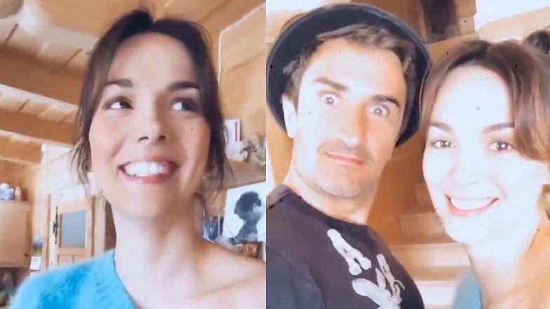 """Paulina Krupińska wygłupia się z mężem na Instagramie. """"Jak ładnie wyglądasz w tym kapelusiczku góralskim"""""""
