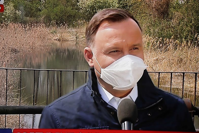 Wybory prezydenckie 2020. Sondaż: Spadek poparcia dla Andrzeja Dudy
