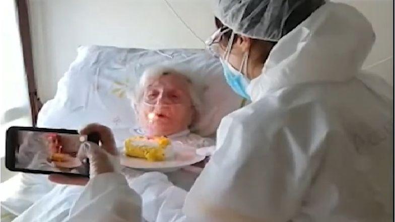 Lucia Ronda skończyła niedawno 106. rok życia.