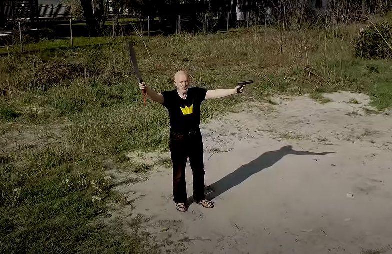 Janusz Korwin-Mikke wziął udział w #Hot16Challenge