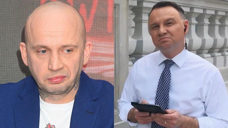 """Bezlitosny Peja ostro o """"rapującym"""" Andrzeju Dudzie: """"ŚWIAT STANĄŁ NA CH..."""""""