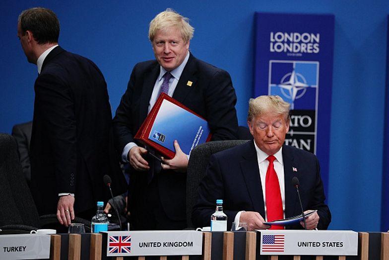 Boris Johnson miał wymienić zalety Donalda Trumpa. Udało mu się podać jedną