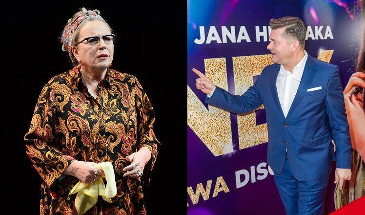 """Krystyna Janda o disco polo w TVP: """"Od pięciu lat ani razu nie włączyłam kanału telewizji publicznej. Więc nie słyszałam, JAK ŚPIEWA ZENEK"""""""