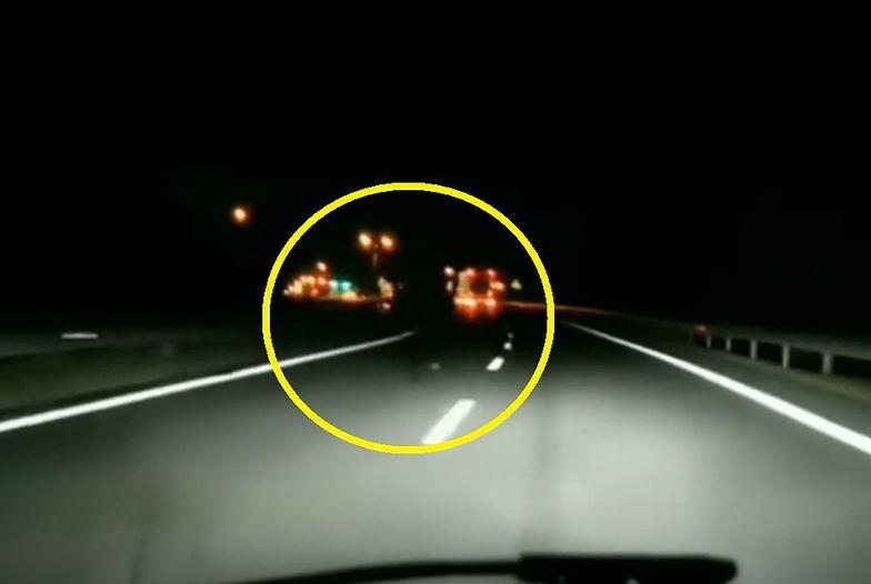 Przerażające nagranie z DK94. Zobacz, co wyłoniło się z mroku