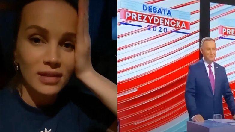 """Znużona Maffashion podsumowuje debatę prezydencką: """"Nie wiem, na kogo zagłosuję. ŚWIAT STANĄŁ NA GŁOWIE"""""""