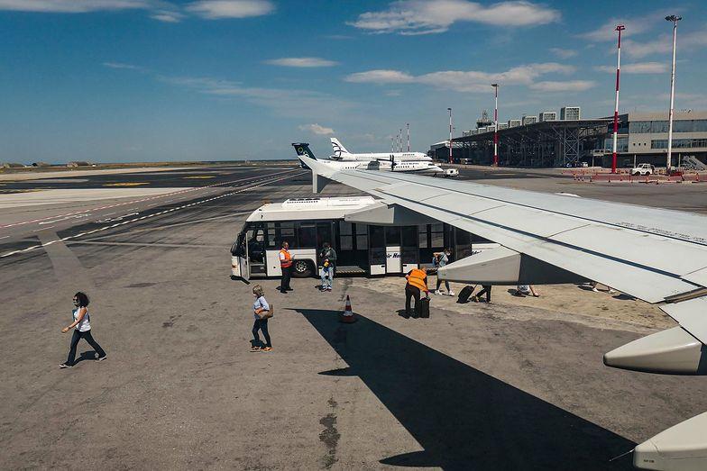 Lotnisko w Grecji