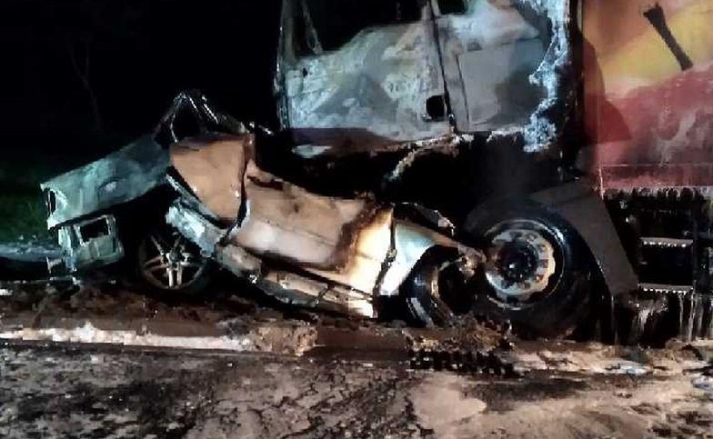 Lubelskie. Tragiczny wypadek na obwodnicy. Zginął 25-letni kierowca BMW