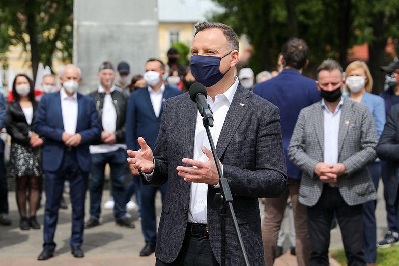 Wybory prezydenckie 2020. Andrzej Duda zyskał poważnego rywala