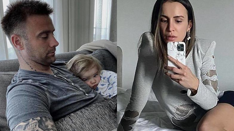 """Sara Boruc skrytykowana za... pokazywanie synowi filmików na telefonie: """"Świadomość, jak widzę, ZATRWAŻAJĄCO MAŁA"""""""