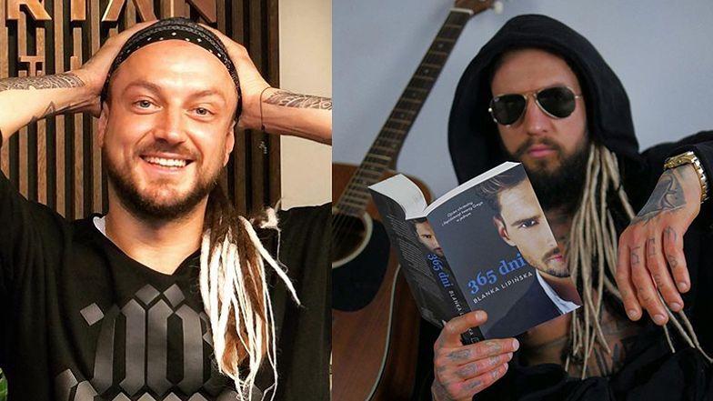"""Stifler PRZEBRANY ZA BARONA reklamuje książkę """"365 dni"""": """"Czytanie jest sexy"""" (FOTO)"""