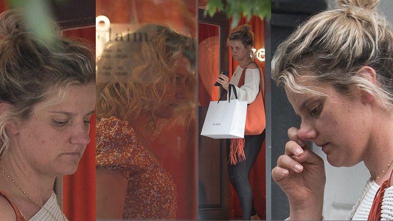 Zofia Zborowska wspiera Jessicę Mercedes, kupując ciuszki w jej butiku