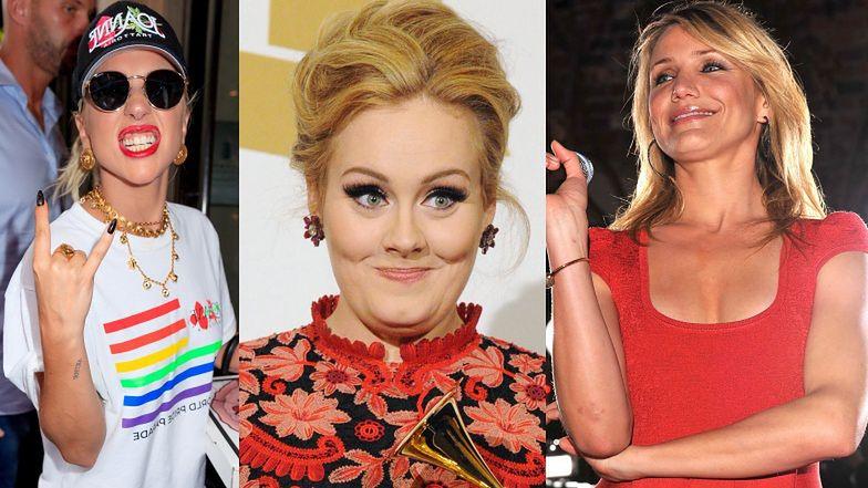 Adele schudła dzięki POMOCY ZNANYCH KOLEŻANEK? Trenera poleciła jej Lady Gaga, a szefa kuchni Cameron Diaz!