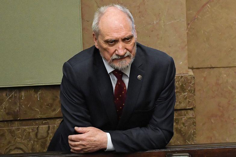 Macierewicz skomentował słowa Kaczyńskiego