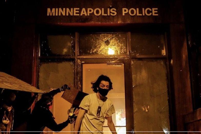 George Floyd został uduszony przez policjanta. W Minneapolis wybuchły zamieszki.