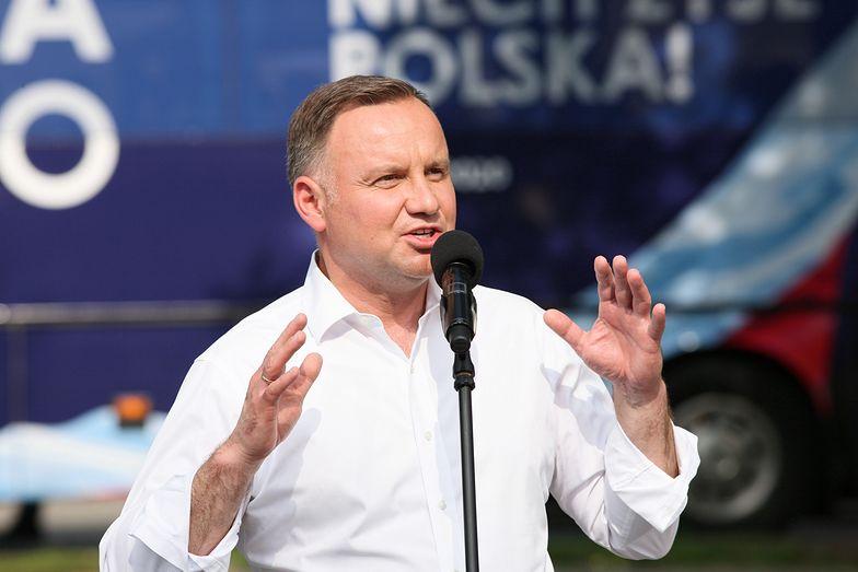 Wybory 2020. Nowa obietnica Andrzeja Dudy. Światłowód w każdym domu w Polsce