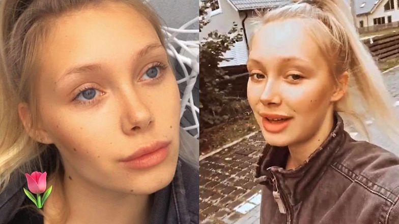 """Wypoczęta Gracja Kalibabka z """"Top Model"""" odpiera zarzuty o uprawianie CZARNEJ MAGII: """"Coś tam mówię przez sen, ale NIE LUNATYKUJĘ"""""""