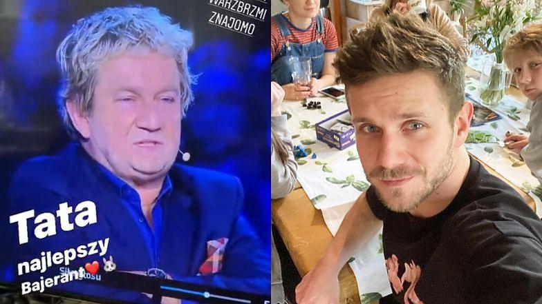 """Antek Królikowski wspomina ojca na Instagramie: """"Tata najlepszy bajerant"""""""