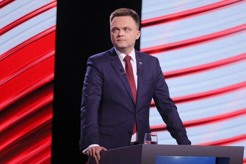 Wybory prezydenckie. Szymon Hołownia opublikował wyniki badań