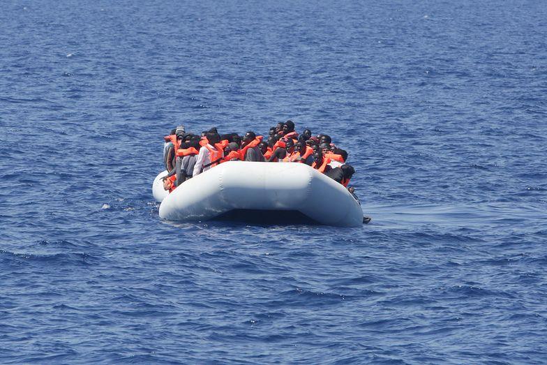 Eksplozja na statku u wybrzeży Libii. Nie żyje 45 migrantów