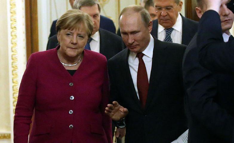 Rosyjski wywiad przejął maile Angeli Merkel