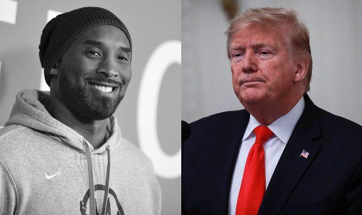 """Kobe Bryant nie żyje. Donald Trump: """"To straszna wiadomość"""""""