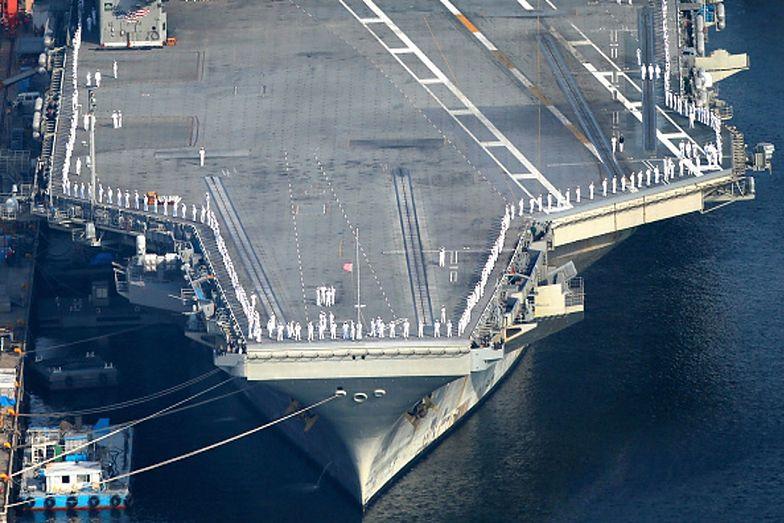 Okręty wojenne USA na Morzu Południowochińskie. Chiny odpowiadają