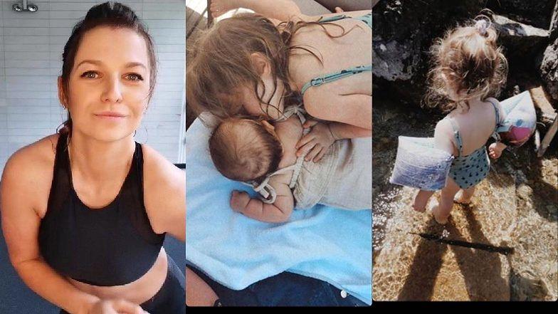 Anna Lewandowska zachwyca się siostrzaną miłością swoich córek: Klary i Laury (FOTO)