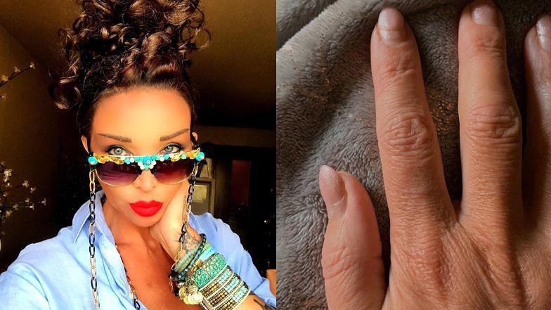 """Heroiczna Ewa Minge demaskuje PODZIEMIE KOSMETYCZNE, prezentując własne odrosty: """"Co druga ma paznokcie zrobione i nawet rzęsy. HIPOKRYZJA!"""""""