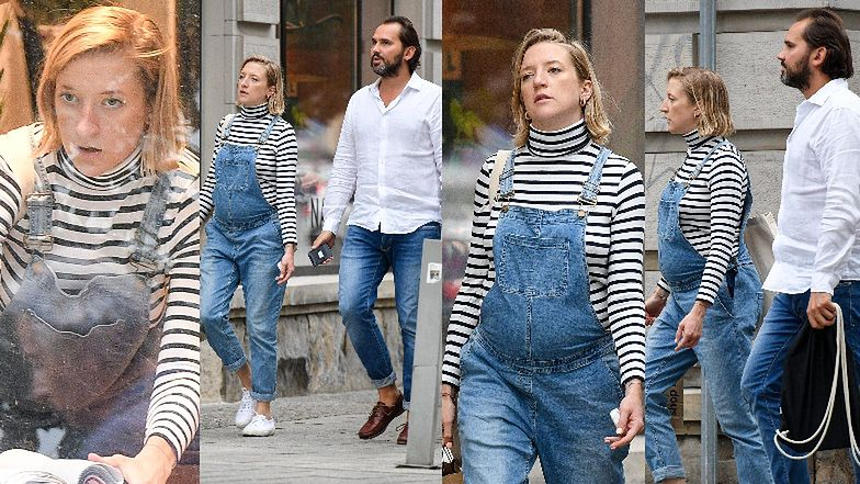 Lara Gessler buszuje z partnerem po butikach