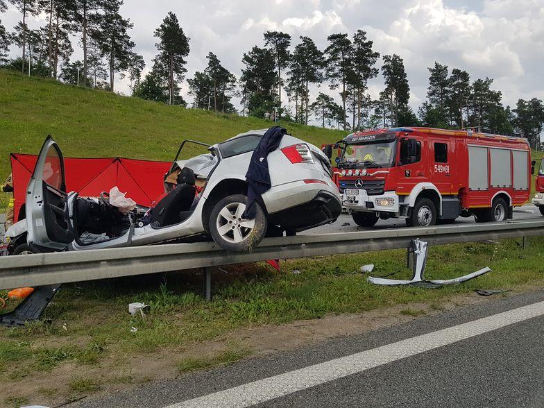 Tragiczny wypadek na Pomorzu. Autostrada A1 zablokowana