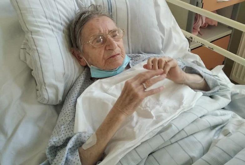 Pokonała koronawirusa. 103-letnia Teresa Wójcik zadziwiła lekarzy