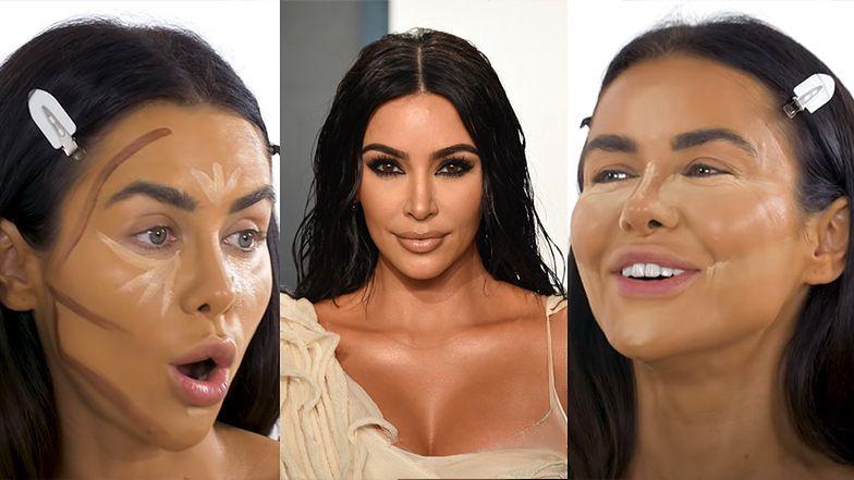 """Natalia Siwiec próbuje upodobnić się do Kim Kardashian: """"Konturowanie, baking, rozświetlanie..."""""""