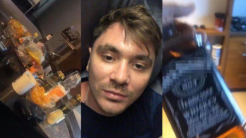 """Rozluźniony Daniel Martyniuk nawołuje do OBALENIA RZĄDU, wymachując butelką whisky i kapciem: """"ZNISZCZYĆ WŁADZĘ RZĄDZĄCĄ"""""""