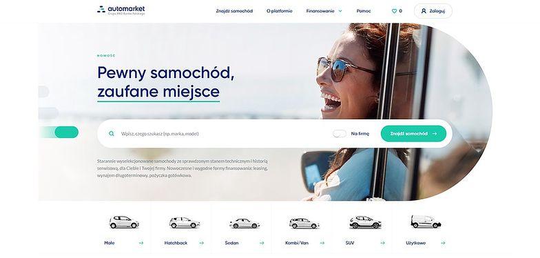 Automarket. Pierwsza bankowa platforma do sprzedaży aut
