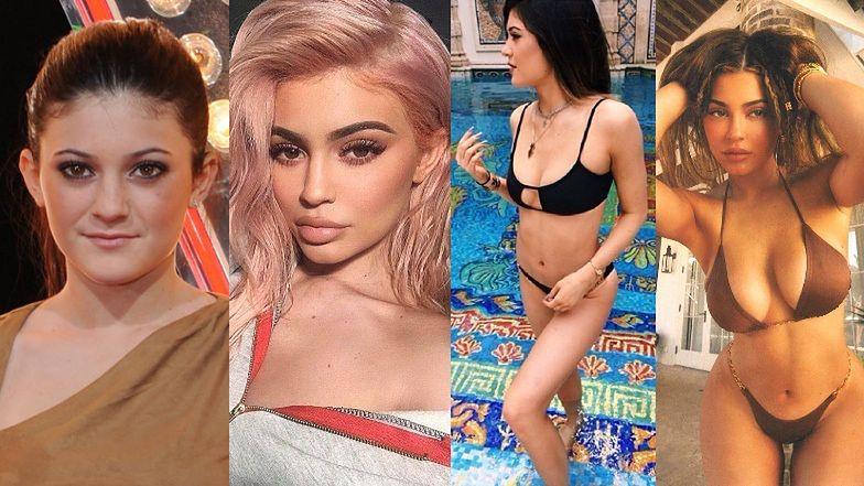Kylie Jenner skończyła 23 lata. Zobaczcie, jak się zmieniła