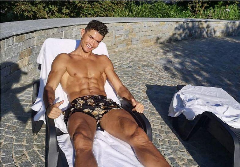Co za zdjęcie Cristiano Ronaldo! Porównują go do Lewandowskiego