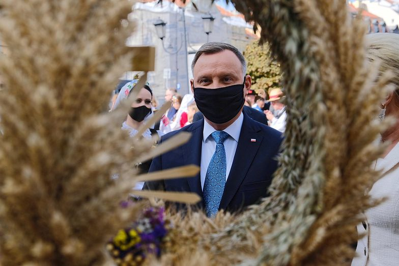 Prezydent Andrzej Duda znieważony. Złapali sprawcę