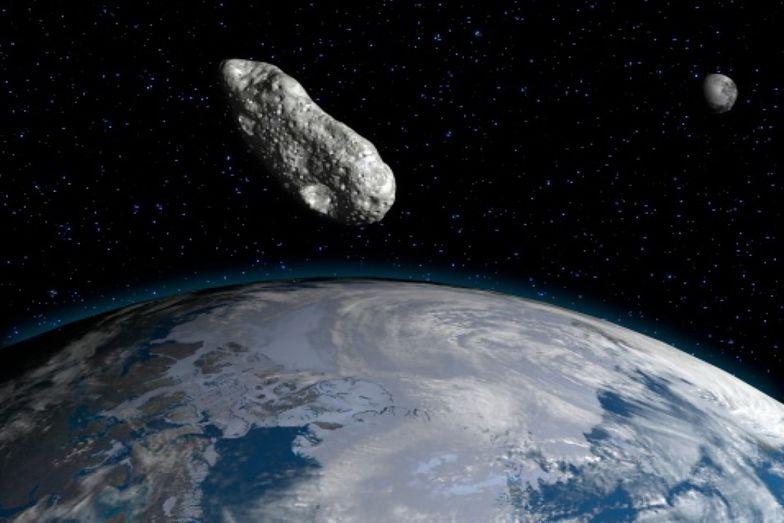 Pierwszego września asteroida przeleci niezwykle blisko Ziemi. Komunikat  NASA